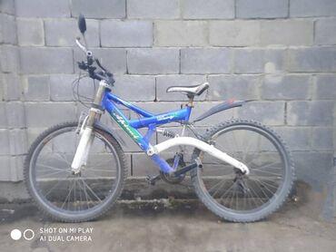 Велосипед спортивный горный 21 скорости, колесо 26р, 9000с торг