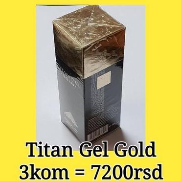 Promocija - Srbija: Titan Gel Gold OriginalPROMOCIJA : 3 kom po ceni od samo 2400rsd =