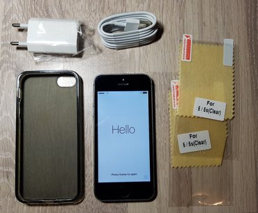 Apple iphone 5s black original (32gb) σε Πάτρα