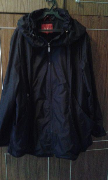 Куртка женская, черная, подклад флис, с капюшоном, размер 52. в Бишкек