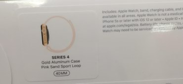Apple Watch 4 series 40mm в Бишкек
