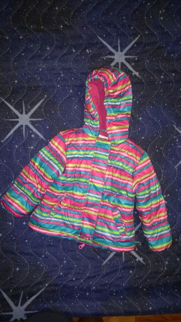 Zimska jakna ljubicaste boje - Srbija: Zimska jakna za damice,veoma topla,očuvana skroz,veselih bojaveličina