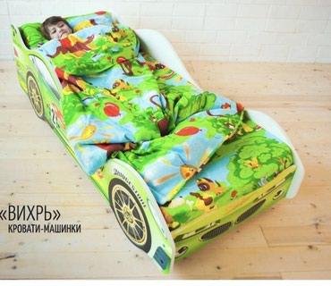 Детская кровать машинка №735 в Бишкек