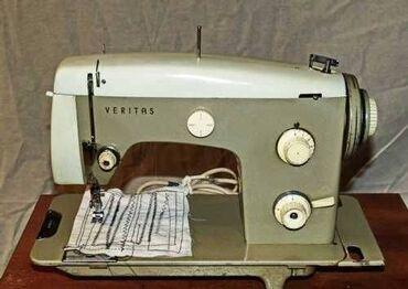 электро швейная машинка в Кыргызстан: ШВЕЙНАЯ МАШИНКА VERITAS (в тумбе)Многооперационная машина немецкая 8