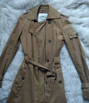 Kišni kaputi - Srbija: Trench coat sa kaisem, u perfektnom stanju.XS/ slabiji S.100%