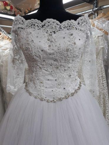 Свадебное платье, белое ,размер 42-44 Прокат,продажа. в Бишкек