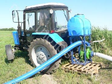Шланги и насосы в Кыргызстан: Насосы от ВОМ трактора для подачи воды под высоким давлением и