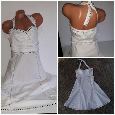Preko grudi - Srbija: Xanaka bela haljina vel L/XLNe piše veličina, te se rukovodite