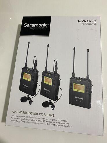 sony купить телефон в Кыргызстан: Продаю:1) микрофон беспроводной saramonic uwmic9, за 23 тыс. Сом-