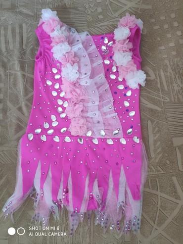 купальники-для-гимнастики в Кыргызстан: Продаю новый купальник для художественной гимнастики для девочки 8-11