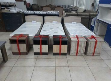 Новый кровать с матрасом ,размер 1,90×80. в Бишкек