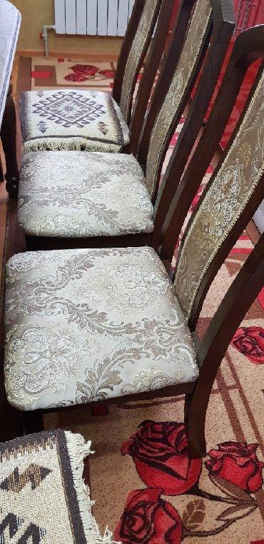 стол с двумя стульями в Кыргызстан: Ош!!! Продаётся стол стул, Состояние отличное.Почти новое!