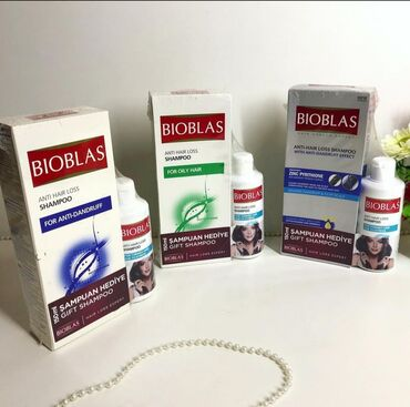 Kosmetika - Hövsan: Bioblas wampun 12azn.icerisinde 2ed-400ml ve yaninda hediyyesi 150ml