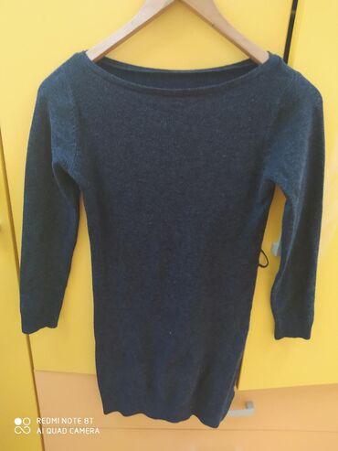 Haljina tunika univerzalna ima elastina tamno siva