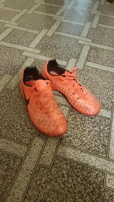 butsy-nike-magista-obra-fg в Кыргызстан: Футбольные бутсы Nike (оригинал). 30-й размер. Б/у. Из Германии