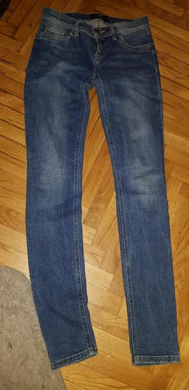 Pantalone ltb - Srbija: Ltb skiny farmerke, skroz uske, plici struk, odlican dzep. vel 25