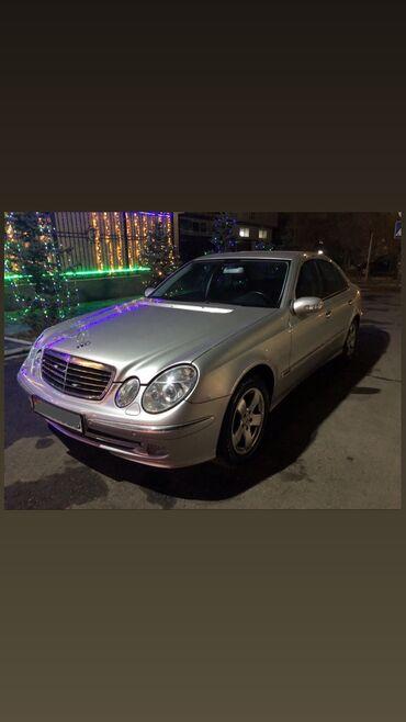 авангард билдинг в Кыргызстан: Mercedes-Benz E 240 2.6 л. 2002