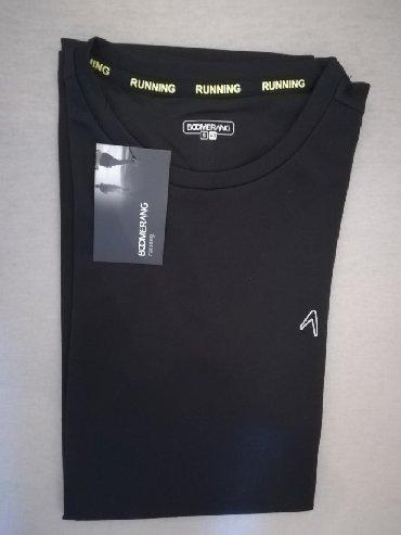 Sport i hobi   Nis: Muska sportska majica, crna, marka BOOMERANG, velicina S, vrhunski