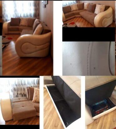 Watsapa yazinKunc divan satilir 250 azn. Balaca teref acilir(boyuk