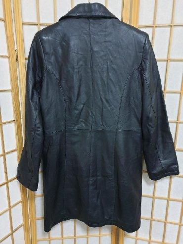 Turskoj-din - Srbija: Kozna jakna -mantil. Nosena i ocuvana.Kupljena u Turskoj. Vel M