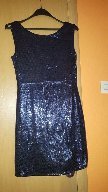 Svecana  mini haljina bez ledja ,kupljena u italiji, vel 38 - Smederevo