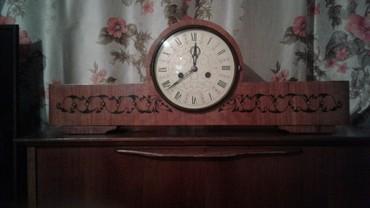 Декор для дома - Кыргызстан: Продаются механический часы СССР 60-ых годов в отличном состоянии очен