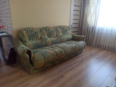 Продам раскладной диван и два кресла ширина дивана 225 см