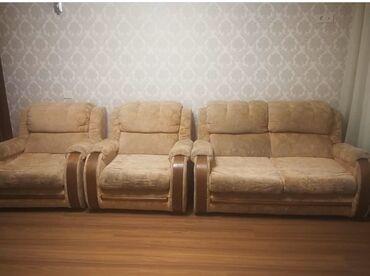 dva divan kresla в Кыргызстан: Продаётся срочно диван четвёрка за 15000сом Состояние хорошое ! Трёх
