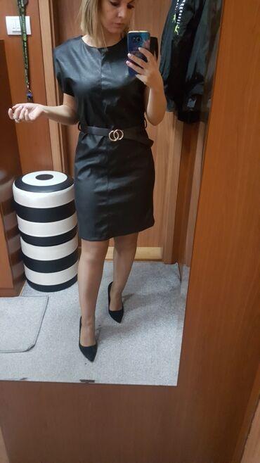 Nova skaj haljina L vel sa naramenicama