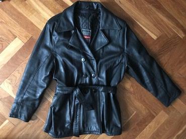 Zenska kozna jakna - mantilic - Nis