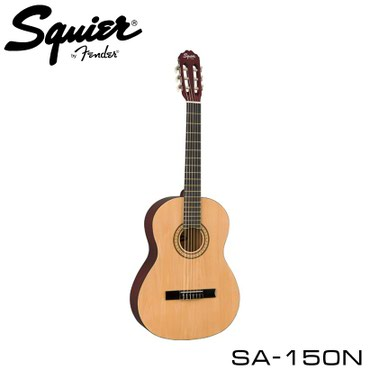 Гитара:Squier SA-150N - полноразмерная классическая гитара с