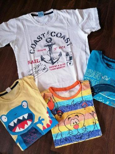 Očuvane majice za dečaka, veličina 8 - 9. Cena je za ceo komplet - Ruma
