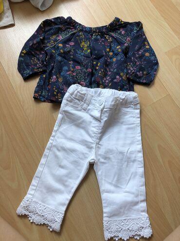 Dečije Farmerke i Pantalone   Vranje: Waikiki nove pantalone vel 80/86 Bluza prodata