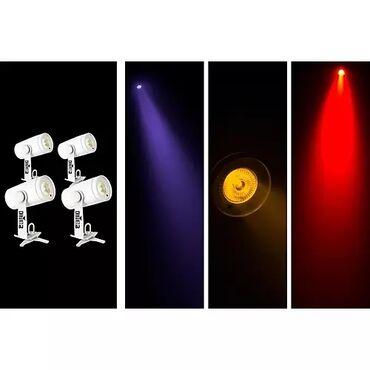 CHAUVET DJ EZwash Hex IRC(USA) светодиодный светильник LED технология