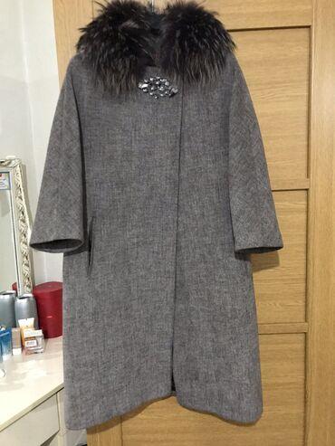 пальто loreta турция в Кыргызстан: Продаю Пальто турция носили мало размер 46 48 купили за 13000 продаю