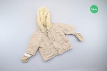 Дитяча зимова куртка з рукавичками Ladybird, вік 3-6 міс., зріст 68 см