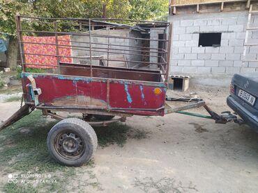 Прицепы - Кыргызстан: Продаю прицеп с документами или меняю на скотину