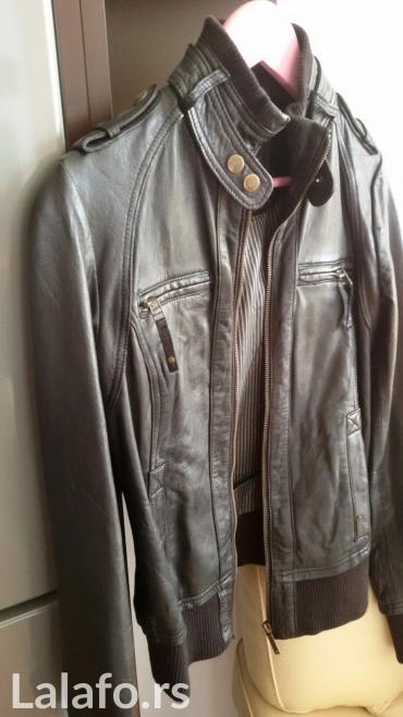 PEPE JEANS jakna, kozna, par puta nosena, ne ostecena. Broj XS. - Kostolac