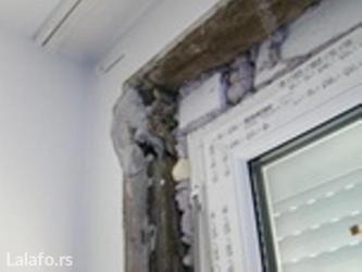 Obrada špaletni-okvira oko vrata i prozora nakon njihove ugradnje - Belgrade