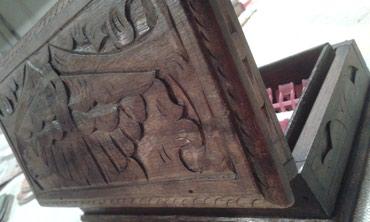 SNIZENJE!Unikatna ukrasna drvena kutija za nakit iz Indonezije - Belgrade