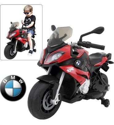 Быстрый, стильный и надежный – все это электромотоцикл Rastar BMW