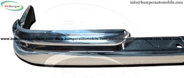 Mercedes W111 coupe  bumper stainless steel Kit consists of 1 front in Baglung