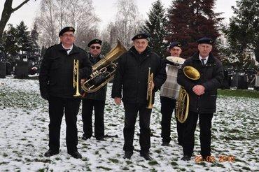 Orkestar za sahrane, Beogradski duvački pogrebni orkestar, sastavljen - Beograd