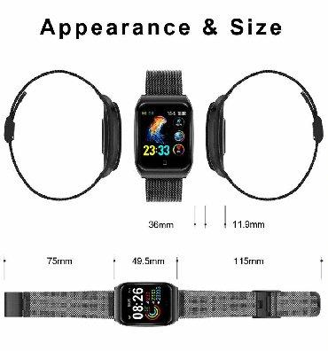 Smart watch F920 Yanvar metrosuna, Sumqayit, Novxani, Bineqedi