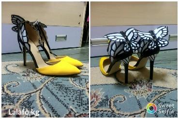 Босоножки туфельки новые, размер 40, длина стопы25,5см, высота каблука в Кожояр