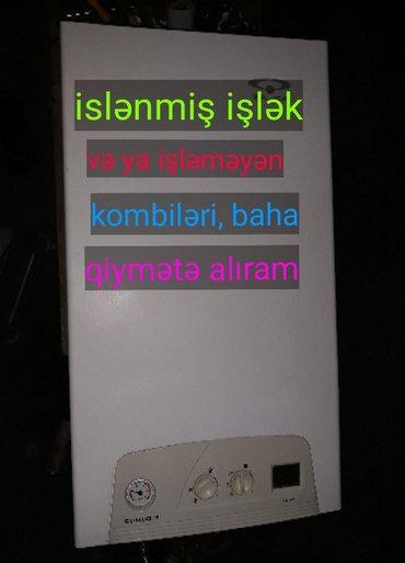 Bakı şəhərində kombi