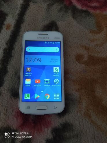 Телефон samsung всё работает 4 ГБ памяти аппарат чисто для связи голый