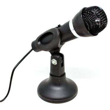 наушники-с-микрофоном-для-компьютера в Кыргызстан: Микрофон для Компьютера.Микрофон для ПК.Microphone with stand MC-302