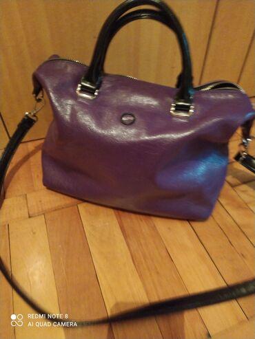 Кожаная сумка Esfero- в хорошем состоянии
