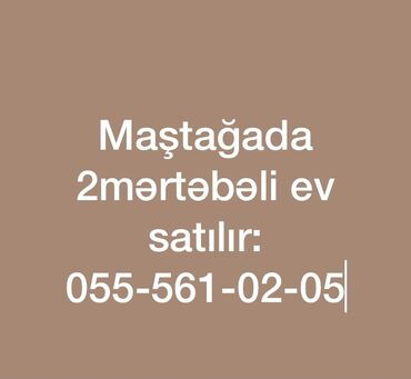 - Azərbaycan: Maştağada bağ evi 2mərtəbəli təmirli evdi suyu işıqı qazı var aşağı